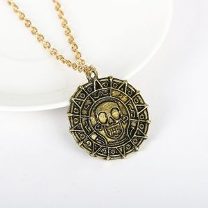 Jewelry - Pirates of the Caribbean Bronze Coin Necklace